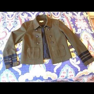Loft military style jacket